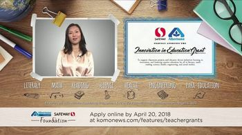 Albertsons Companies Foundation TV Spot, '2018 Innovation in Education' - Thumbnail 10