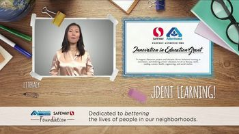 Albertsons Companies Foundation TV Spot, '2018 Innovation in Education' - Thumbnail 8