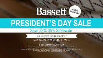 Bassett President's Day Sale TV Spot, 'Blank Living Room' - Thumbnail 8