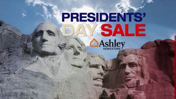 Ashley HomeStore Presidents' Day Event Weekend TV Spot, 'Rushmore' - Thumbnail 4