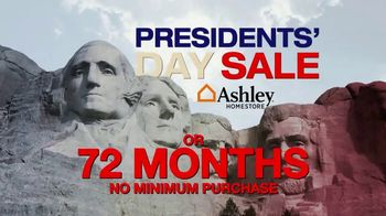 Ashley HomeStore Presidents' Day Event Weekend TV Spot, 'Rushmore' - Thumbnail 5