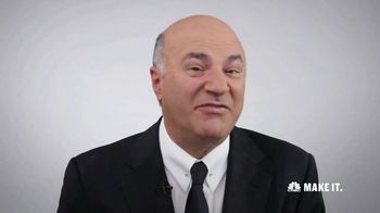 CNBC Make It TV Spot, \'Invest the Rest\' Featuring Kevin O\'Leary