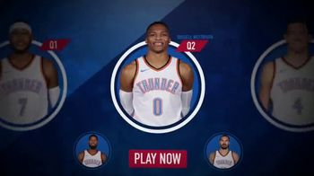 NBA InPlay TV Spot, 'Earn Points' - 77 commercial airings