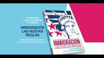 Univision TV Spot 'Inmigración y ciudadanía. Guía informativa' [Spanish]