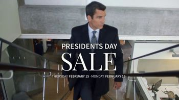 JoS. A. Bank Presidents Day Sale TV Spot, 'Suits, Clearance and Outerwear' - Thumbnail 1