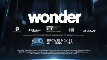 DIRECTV Cinema TV Spot, 'Wonder' - Thumbnail 10