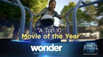 DIRECTV Cinema TV Spot, 'Wonder' - Thumbnail 2