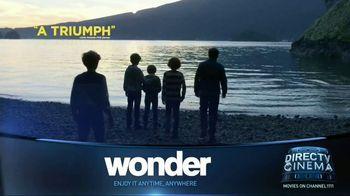 DIRECTV Cinema TV Spot, 'Wonder' - Thumbnail 5