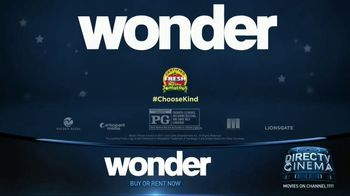 DIRECTV Cinema TV Spot, 'Wonder' - Thumbnail 8
