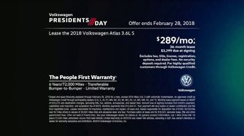 Volkswagen Presidents Day Event TV Spot, 'Open House: 2018 Atlas' [T2] - Thumbnail 9