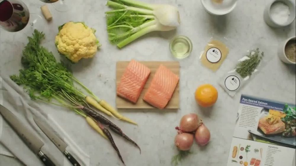 Blue Apron Wild Alaskan Salmon TV Commercial, 'From Ocean to Counter'