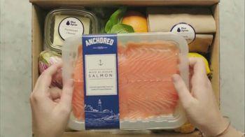 Blue Apron Wild Alaskan Salmon TV Spot, 'From Ocean to Counter' - Thumbnail 2
