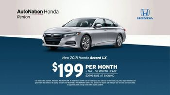 AutoNation TV Spot, '2018 Accord and Batteries' - Thumbnail 4