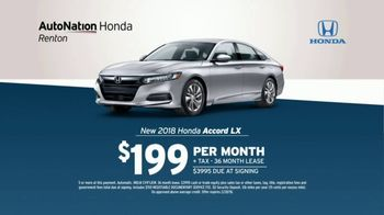 AutoNation TV Spot, '2018 Accord and Batteries' - Thumbnail 5