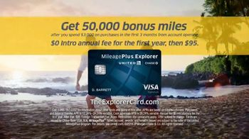 United MileagePlus Explorer Card TV Spot, 'Imagine' Song by Generationals - Thumbnail 10
