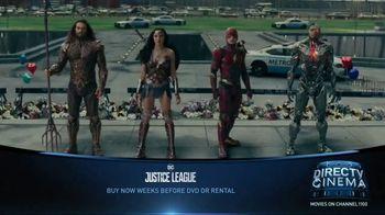 DIRECTV Cinema TV Spot, 'Justice League'