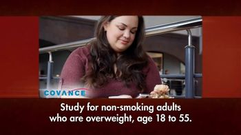Covance Clinical Trials TV Spot, 'Overweight'