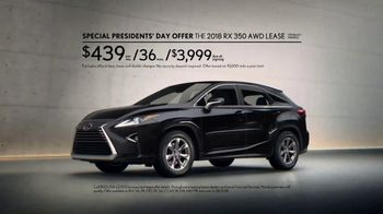 Lexus Special Presidents' Day Offer TV Spot, 'To Err Is Human' [T2] - Thumbnail 9