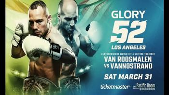 Glory Kickboxing TV Spot, 'Glory 52: Los Angeles' - 5 commercial airings