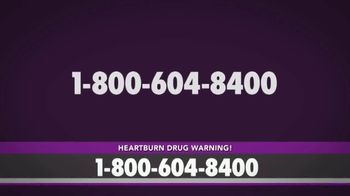 Bruera Law Firm PLLC TV Spot, 'Hearburn Drug Warning' - Thumbnail 3