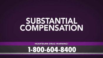 Bruera Law Firm PLLC TV Spot, 'Hearburn Drug Warning' - Thumbnail 4