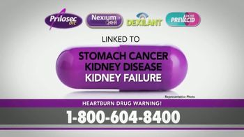 Bruera Law Firm PLLC TV Spot, 'Hearburn Drug Warning' - Thumbnail 6