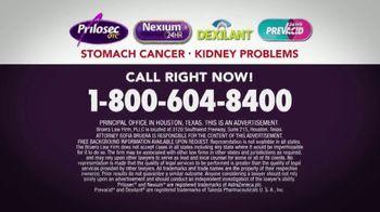 Bruera Law Firm PLLC TV Spot, 'Hearburn Drug Warning' - Thumbnail 7
