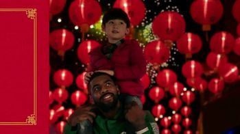NBA TV Spot, '2018 Chinese New Year: Fireworks' Featuring Kyrie Irving - Thumbnail 9