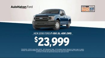 AutoNation TV Spot, 'We Have What You Want: 2018 Ford F-150' - Thumbnail 8