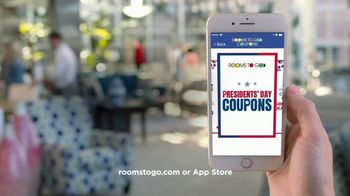 Rooms to Go Presidents' Day Sale TV Spot, 'Save Even More' - Thumbnail 9