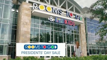 Rooms to Go Presidents' Day Sale TV Spot, 'Save Even More' - Thumbnail 1