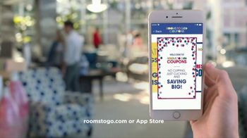 Rooms to Go Presidents' Day Sale TV Spot, 'Save Even More' - Thumbnail 8