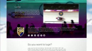SportsEngine TV Spot, 'Winter Olympics Story: Luge' - Thumbnail 8