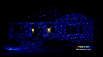 Points of Light LED Lightshow TV Spot, 'Make the Season Brighter' - Thumbnail 10