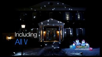 Points of Light LED Lightshow TV Spot, 'Make the Season Brighter' - Thumbnail 3