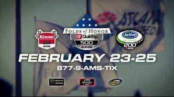 Atlanta Motor Speedway TV Spot, '2017 Folds of Honor QuikTrip 500' - Thumbnail 9