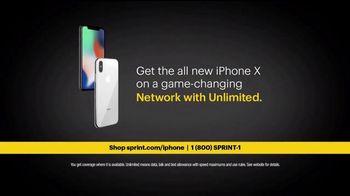 Sprint Unlimited TV Spot, 'Game Changers: iPhone X' Featuring David Beckham - Thumbnail 6