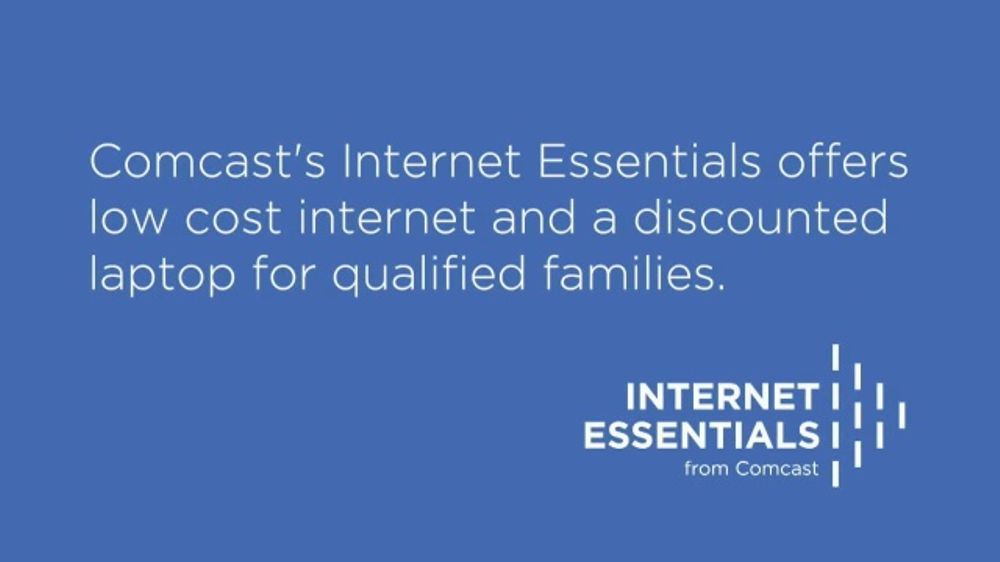 Comcast Internet Essentials TV Commercial, 'Low Cost ...