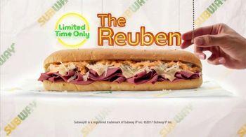 Subway Reuben TV Spot, 'Rock Around the Clock' Song by Bill Haley - Thumbnail 9