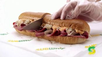 Subway Reuben TV Spot, 'Rock Around the Clock' Song by Bill Haley