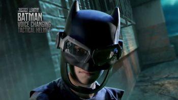 DC Justice League Batman Voice Changing Tactical Helmet TV Spot, 'Battle'