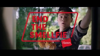 Hanes Fresh IQ TV Spot, 'End the Smelfie: Free Boxer Brief'