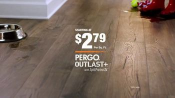 The Home Depot TV Spot, 'Fight Back With Pergo Outlast+' - Thumbnail 10