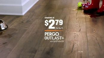 The Home Depot TV Spot, 'Fight Back With Pergo Outlast+' - Thumbnail 9
