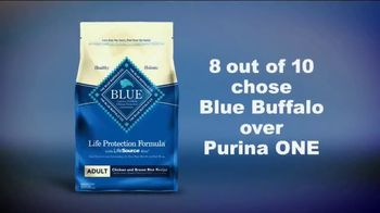Blue Buffalo Life Protection Formula TV Spot, 'Blue Buffalo vs. Purina One' - Thumbnail 9