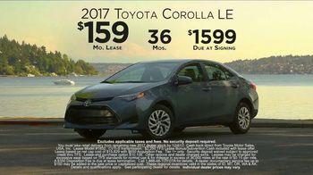 2017 Toyota Corolla TV Spot, 'Live With Inspiration' - Thumbnail 7