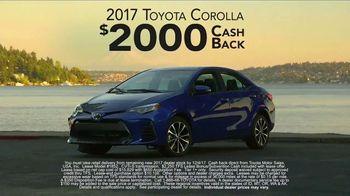 2017 Toyota Corolla TV Spot, 'Live With Inspiration' - Thumbnail 6