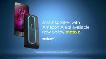 Motorola Moto Z TV Spot, 'Can Your Phone Do This: Amazon Alexa' - Thumbnail 9