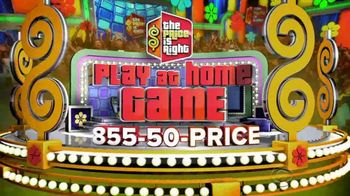 The Price Is Right: Play at Home Game TV Spot, 'Win Cash'