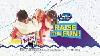 Hasbro Toys & Games TV Spot, 'Raise the Fun!'